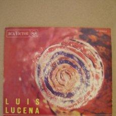 Discos de vinilo: LUIS LUCENA - NAVIDADES - HERMANO. Lote 44427743