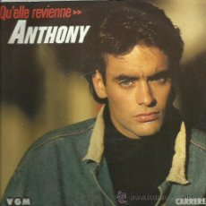 Discos de vinilo: ANTONY DELON SINGLE SELLO VGM AÑO 1987 . Lote 44430107
