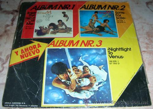 BONEY M - RIOS DE BABILONIA - SINGLE ARIOLA (Música - Discos - Singles Vinilo - Funk, Soul y Black Music)