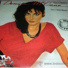 Discos de vinilo: DENISE MCCANN - CAN'T HELP MYSELF - SINGLE. Lote 44430282