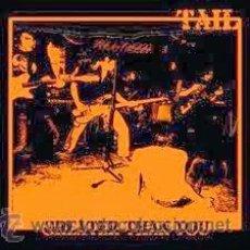 Discos de vinilo: TAIL - GREATER THAN YOU (EP, CABBA RECORDS) M-/M- GARAGE PUNK VALENCIANO, AUTOPRODUCIDO. Lote 118734126