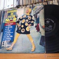Discos de vinilo: CARRUSEL EXITOS 2 V/A RCA EDIC ESPAÑA ROKES, NEIL CHRISTIAN, SYLVIE VARTAN, PAUL ANKA. Lote 44433666