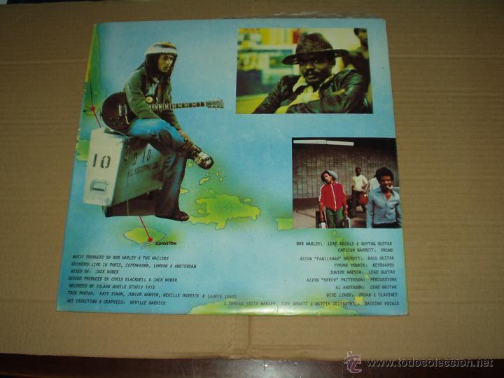 Discos de vinilo: BOB MARLEY LP DOBLE BABYLON BY BUS - Foto 2 - 44434159