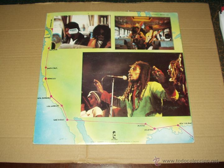 Discos de vinilo: BOB MARLEY LP DOBLE BABYLON BY BUS - Foto 3 - 44434159