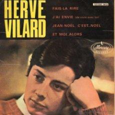 Discos de vinilo: HERVÉ VILARD, EP, FAIS-LA RIRE + 3, AÑO 1966. Lote 44434447