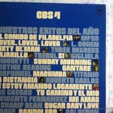 Discos de vinilo: LP CBS 4-NUESTROS EXITOS DEL AÑO-VARIOS. Lote 57393598