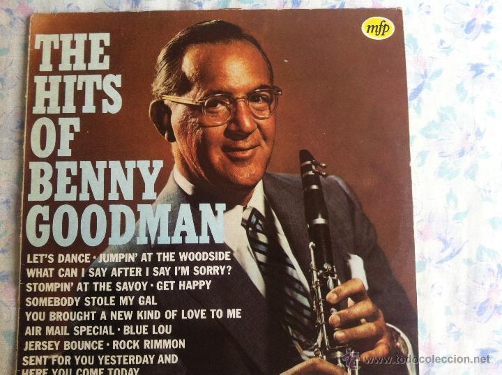LP BENNY GOODMAN-THE HITS OF (Música - Discos - LP Vinilo - Solistas Españoles de los 70 a la actualidad)