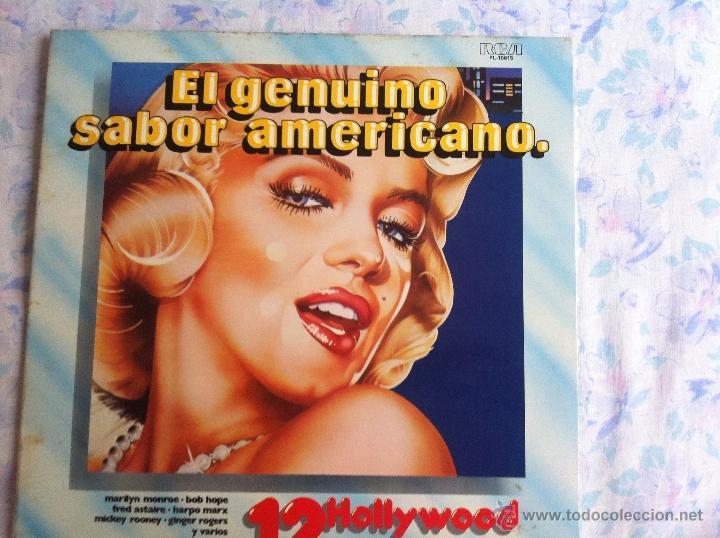 LP EL GENUINO SABOR AMERICANO Nº 12-HOLLYWOOD (Música - Discos - LP Vinilo - Solistas Españoles de los 70 a la actualidad)