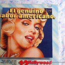 Disques de vinyle: LP EL GENUINO SABOR AMERICANO Nº 12-HOLLYWOOD. Lote 44436104