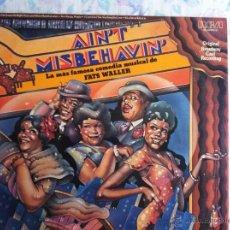 Discos de vinilo: LP DOBLE-FATS WALLER-AIN'T MISBEHAVIN'. Lote 44436122