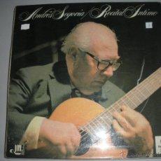 Discos de vinilo: MAGNIFICO LP DE - ANDRES - SEGOVIA -. Lote 44436505