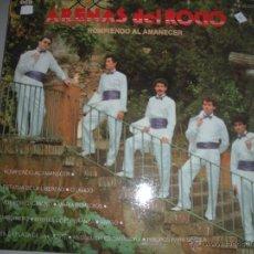 Discos de vinilo: MAGNIFICO LP DE - ARENAS DEL ROCIO -. Lote 44436562