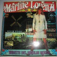 Discos de vinilo: MAGNIFICO LP DE - MARTINE - LORENZI -. Lote 44436722