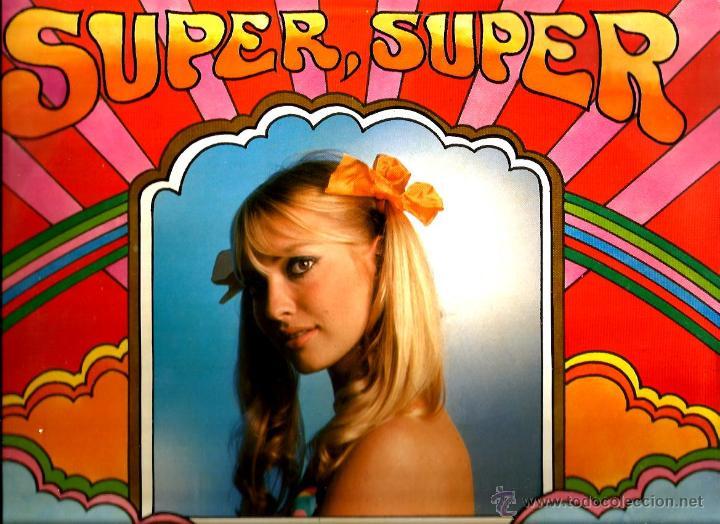 LP SUPER, SUPER: LOS TOPS, LOS MISMOS, LOS GRITOS, ALBERT BAND, ALTAMIRA 3, CRISTINA, ETC (Música - Discos - LP Vinilo - Grupos Españoles 50 y 60)
