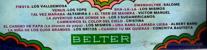 Discos de vinilo: LP SUPER, SUPER: LOS TOPS, LOS MISMOS, LOS GRITOS, ALBERT BAND, ALTAMIRA 3, CRISTINA, ETC - Foto 2 - 44436768