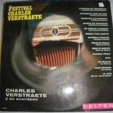 Discos de vinilo: MAGNIFICO LP DE - CHARLES - VERSTRAETE -. Lote 44436871