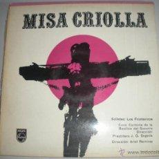 Discos de vinilo: MAGNIFICO LP DE - MISA - CRIOLLA -. Lote 44437052