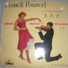Discos de vinilo: MAGNIFICO LP DE FRANCK - POURCEL -. Lote 44437090