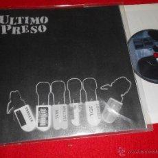 Disques de vinyle: ULTIMO PRESO CULPABLES/VIDA MERCANCIA +6 EP 2001 CRY OUT RECORDS MALLORCA PUNK 8 CANCIONES! ESPAÑA. Lote 44437430