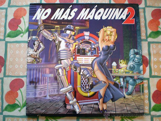 NO MÁS MÁQUINA 2 (2 LP VINILO) NUEVO (Música - Discos - LP Vinilo - Disco y Dance)