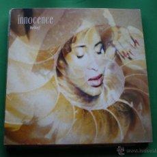 Discos de vinilo: INNOCENCE ( BELIEF ) LP CHRYSALIS SPAIN 1990 CON ENCARTES. Lote 44442149