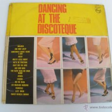 Disques de vinyle: DANCING AT THE DISCOTEQUE 1965 RARO. Lote 44444595