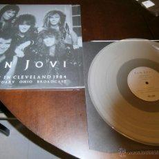 Discos de vinilo: BON JOVI - 2 LP - ROCKIN IN CLEVELAND 1984 - VINILO COLOREADO EN EDICIÓN LIMITADA. Lote 44448245