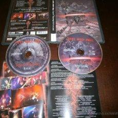 Discos de vinilo: AXEL RUDI PELL - 2 DVD - KNIGHT TREASURES - JOHNNY GIOELI - HARDLINE - JOURNEY - HARD ROCK. Lote 193944132