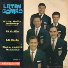 Discos de vinilo: LATIN COMBO, EP, HULLY GULLY HOLLIDAY + 3, AÑO 1963. Lote 44452725