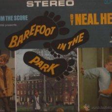 Discos de vinilo: LP-BSO BAREFOOT IN THE PARK DESCALZOS EN EL PARQUE NEAL HEFTI-DOT 25803-USA 196??-STEREO BUD SHANK. Lote 44453699