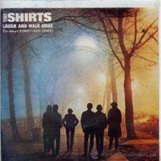 Disques de vinyle: THE SHIRTS / LAUGH AND WALK AWAY / TRIANGULUM (SINGLE PORTUGUES). Lote 44455263