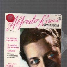 Discos de vinilo: ALFREDO KRAUS. Lote 44455386