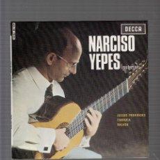 Discos de vinilo: NARCISO YEPES JUEGOS PROHIBIDOS. Lote 44455541
