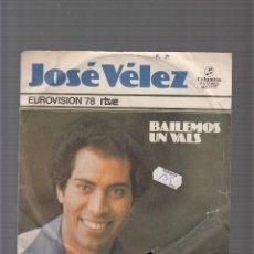 Discos de vinilo: JOSE VELEZ. Lote 44456436