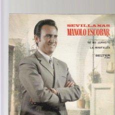 Discos de vinilo: MANOLO ESCOBAR. Lote 44456849