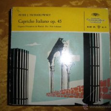 Discos de vinilo: TSCHAIKOWSKY. CAPRICHO ITALIANO, OP. 45. ORQUESTA FILARMONICA DE MUNICH. DIR : FRITZ LEHMANN.. Lote 44457340