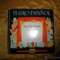 Discos de vinilo: TEATRO ESPAÑOL. LOS GAVILANES. ORQUESTA SINFONICA ESPAÑOLA. REGAL. Lote 44457385