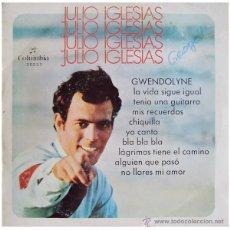 Discos de vinilo: JULIO IGLESIAS - GWENDOLYNE - LP SPAIN 1970 - COLUMBIA/CIRCULO DE LECTORES 32233. Lote 44457809