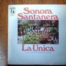 Discos de vinilo: SONORA SANTANERA - LA UNICA - EDITADO EN USA. Lote 44458655