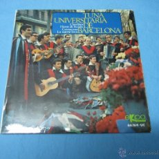 Discos de vinilo: EP SINGLE TUNA DEL COLEGIO MAYOR LOYOLA 1968. Lote 44459563