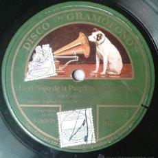 Discos de vinilo: CARMEN FLORES - ES EL NIÑO DE LA PALMA / TRANVIAS SEVILLANOS. Lote 44459991
