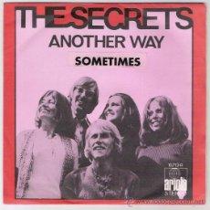 Discos de vinilo: THE SECRETS-ANOTHER WAY-SOMETIMES-. Lote 44461338