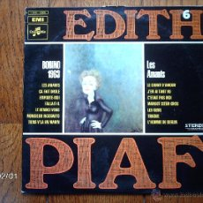 Discos de vinilo: EDITH PIAF - VOL. 6 - BOBINO 1963 / LES AMANTS . Lote 44466565