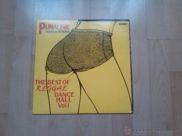 PUNAUNIE (VARIOUS ARTISTES) - THE BEST OF REGGAE DANCE HALL VOL. 1 (Música - Discos - LP Vinilo - Reggae - Ska)