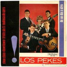 Discos de vinilo: LOS PEKES - CHAO CHAO (DOWNTOWN) - EP SPAIN 1965 - NOVOLA NV-108. Lote 44472836