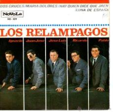 Discos de vinilo: LOS RELAMPAGOS / DOS CRUCES. Lote 44517155