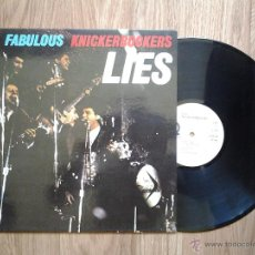 Discos de vinilo: THE FABULOUS KNICKERBOCKERS - LIES - REED. ÚNICO LP 1966 - CARPETA EX- VINILO EX. Lote 44518800