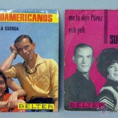 Discos de vinilo: 2 LOS 3 SUDAMERICANOS MARIONETAS EN LA CUERDA ME LO DIJO PÉREZ LA FELICIDAD Y LA FAMILIA 45 RPM VINI. Lote 44521869