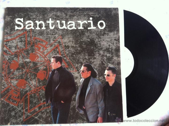 LP SANTUARIO-SANTUARIO (Música - Discos - LP Vinilo - Grupos Españoles de los 90 a la actualidad)