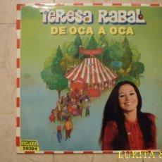 Discos de vinilo: TERESA RABAL - DE OCA A OCA - 1981.. Lote 44528911